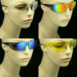 SUNGLASSES CYCLE SAFETY GLASSES CLEAR LENS MEN WOMEN SHOOT F