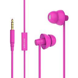 MAXROCK  Super Mini Total Soft Silicon Earbuds Headphones wi