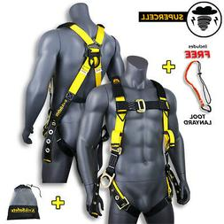KwikSafety  SUPERCELL Safety Harness | ANSI OSHA Full Body P
