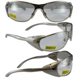 Supra Clear Lens, Lightweight Metal Frame with Side Protecti