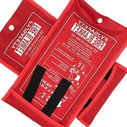 Emergency survival Fiberglass Fire Blanket Shelter Safety Co
