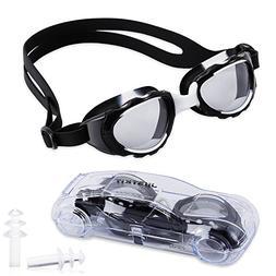 JUSTKIT Kids Swim Goggles, Child  Swimming Goggles No Leakin