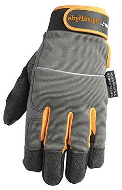 Wells Lamont Synthetic Leather Gloves, Insulated, Cold Weath
