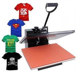 16x20 T-Shirt Heat Press Transfer Sublimation Machine Black
