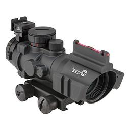 CVLIFE 4x32 Tactical Rifle Scope Red & Green &Blue Illuminat
