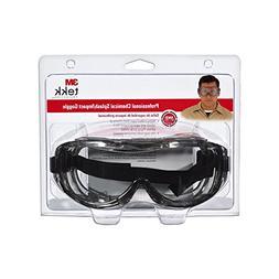 3M TEKK Professional Chemical Splash Goggle, New Value Pack