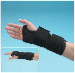 TeraFoam Wrist Cock-Up Brace - Left, Medium, Palm Circ: 6 1/