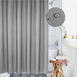 thick shower curtain polyester fabric
