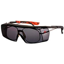 NoCry Tinted Over-Spec Safety Glasses - with Anti-Scratch Wr