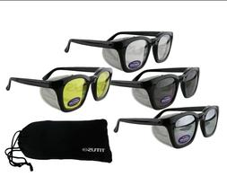Titus Safety Glasses Shooting Eyewear Motorcycle Protection