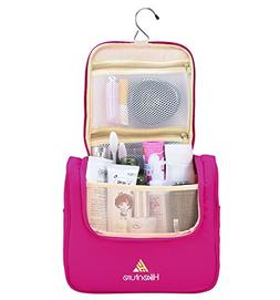 Toiletry Travel Bag for Women - Large Makeup Organizer Kit -