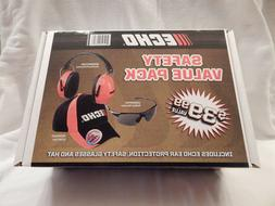 ECHO TOOL CHAINSAW SAFETY GLASSES EAR HEARING HEADPHONE PROT