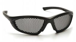 Pyramex Safety Trifecta Safety Glasses with Black Frame and