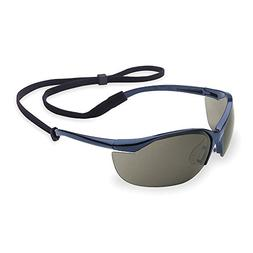 Honeywell TSR Gray Safety Glasses, Scratch-Resistant, Wrapar