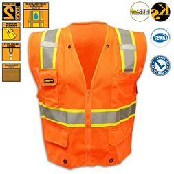 KwikSafety Ultra Cool Mesh Safety Vest | Reflective High Shi