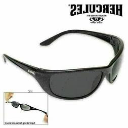 UNBREAKABLE INDESTRUCTIBLE Safety SUN GLASSES-Smoked-NO MORE