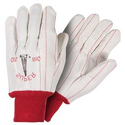 Southern Gloves UPC195 Poly/Cotton Outer Oil Field Gloves, S
