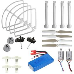 AVAWO® Upgraded Syma X8C X8W X8G Venture Full Spare Parts K