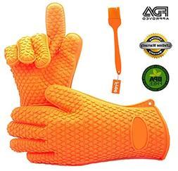UrCooker Premium Cooking Gloves Heat Resistant Waterproof Ov
