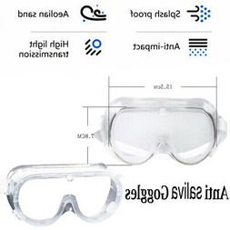 US Anti Saliva Safety Glasses Goggles Eye Protection Work An