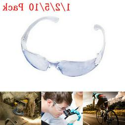 USA Safety Glasses Anti Fog Scratch Resistant Wrap-Around Le
