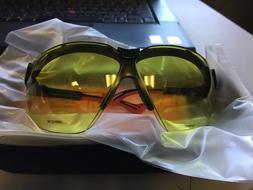 Uvex Honeywell Wraparound Uncoated Laser Safety Glasses Ligh