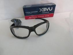 Uvex Livewire Safety Glasses with Clear Anti-Fog Lens, Matte