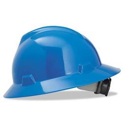MSA V-Gard Hard Hats w/Fas-Trac Ratchet Suspension, Standard