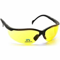 Pyramex V2 Reader Bifocal Safety Glasses with Black Frame an
