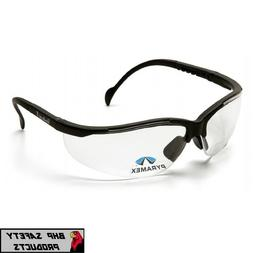 PYRAMEX V2 VENTURE II READER SAFETY GLASSES CLEAR LENS WITH
