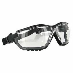 PYRAMEX V2G SAFETY GLASSES GOGGLES HYBRID CLEAR LENS GB1810S