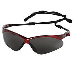 Jackson Safety V30 Nemesis Safety Glasses , Smoke Anti-Fog L