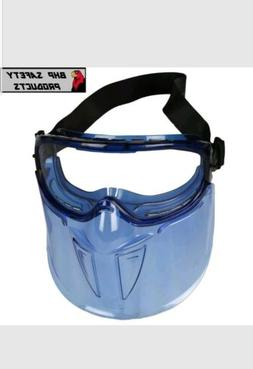 JACKSON V90 SAFETY GOGGLES WITH FACE SHIELD , CLEAR ANTI-FOG