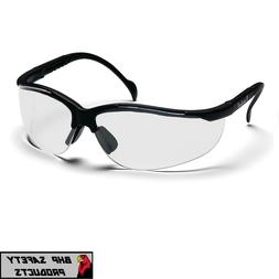 PYRAMEX VENTURE II SAFETY GLASSES CLEAR LENS SHOOTING RANGE