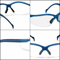 Pyramex Venture Ii Safety Eyewear, Clear Lens With Metallic