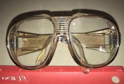 """Vintage UVEX 5.75"""" Z87 9180 Safety Glasses UNUSED Motorcyc"""