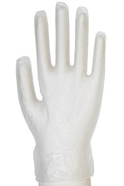 Daxwell Vinyl Powder-Free Exam Gloves, Small, Clear