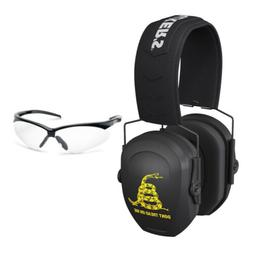 Walker's Razor Slim Passive Safety Ear Muffs  with Glasses K