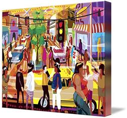 Wall Art Print entitled Ir De Compras Mexico by Charles Hark