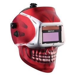 FESTUNG Auto-Darkening Welding Helmet Solar -powered Mask Ey