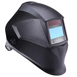 Welding Helmet, Solar Power Auto Darkening - Tacklife PAH02D