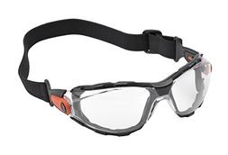 Elvex WELGG41CAF Go-Specs Lens with Elastic Strap, Clear