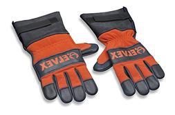 Elvex WELJEGLV50MED Pro Glove, Medium, Blue/Orange