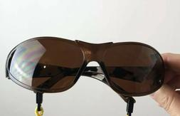 Body Glove White Camp Safety Glasses Amber LenS Full Frame S