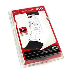 Mcdavid White Lightweight Laced Ankle Brace , White, medium