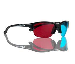 WMB 3D VIP Premium Anaglyphic Red/Cyan 3D Glasses