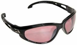 Edge Eyewear Wolverine  Safety Glasses Black Frame with Rose