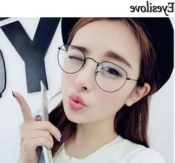 Eyesilove women <font><b>Metal</b></font> <font><b>Glasses</