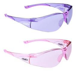 Womens Z87 Safety Glasses Motorcycle Sunglasses Moped Ladies