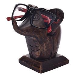 Store Indya – Wooden Nose Shaped Eyeglass Holder – Spec